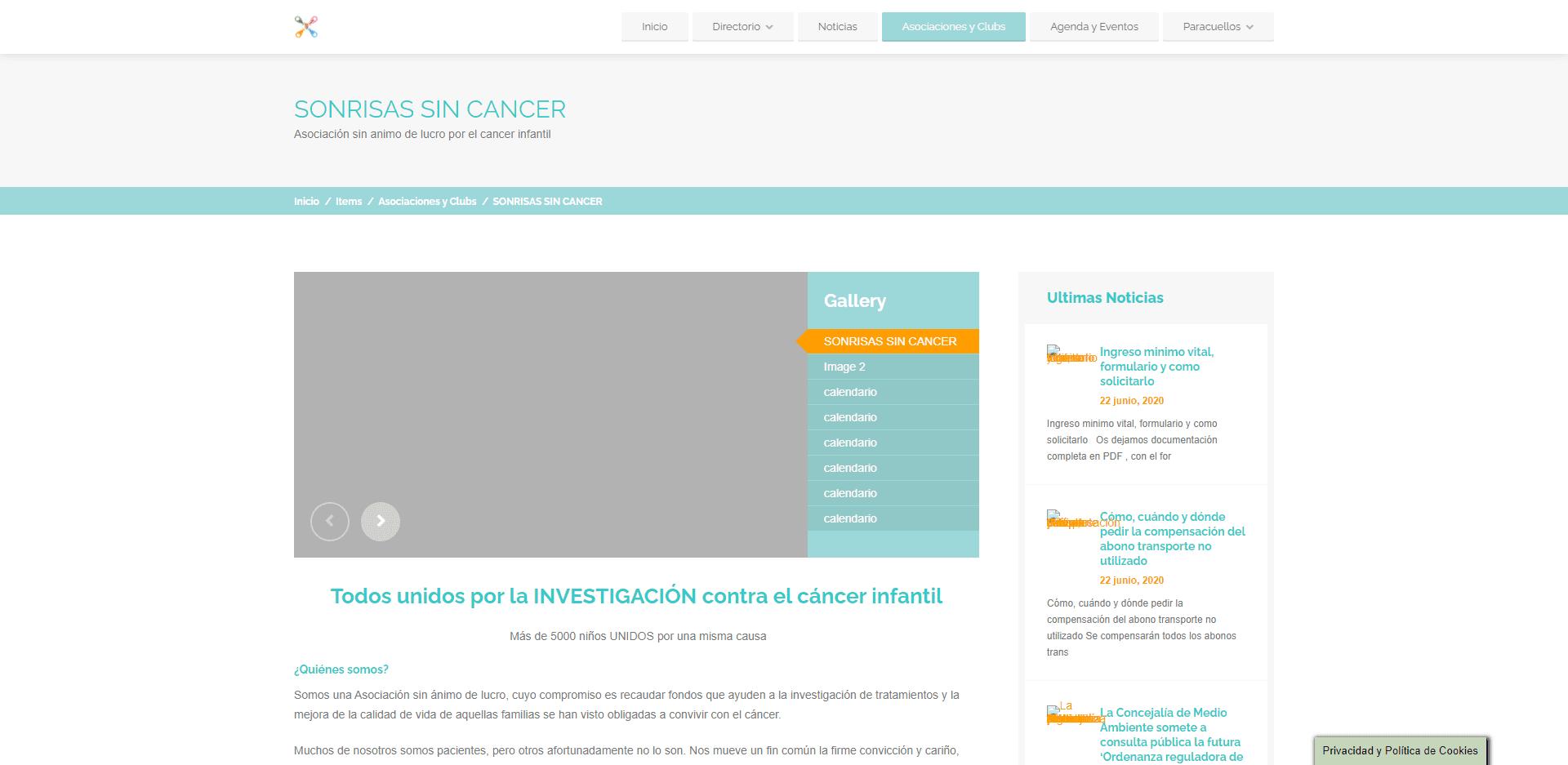 Sonrisas sin cáncer investigación del cáncer infantil - www.infoparacuellos.es