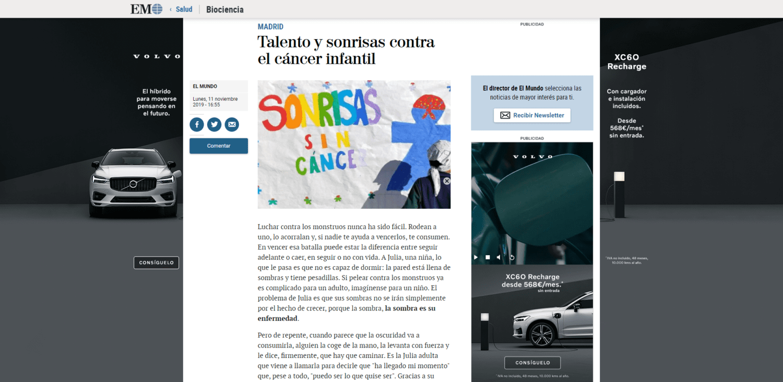 Talento y sonrisas contra el cáncer infantil - Salud - www.elmundo.es