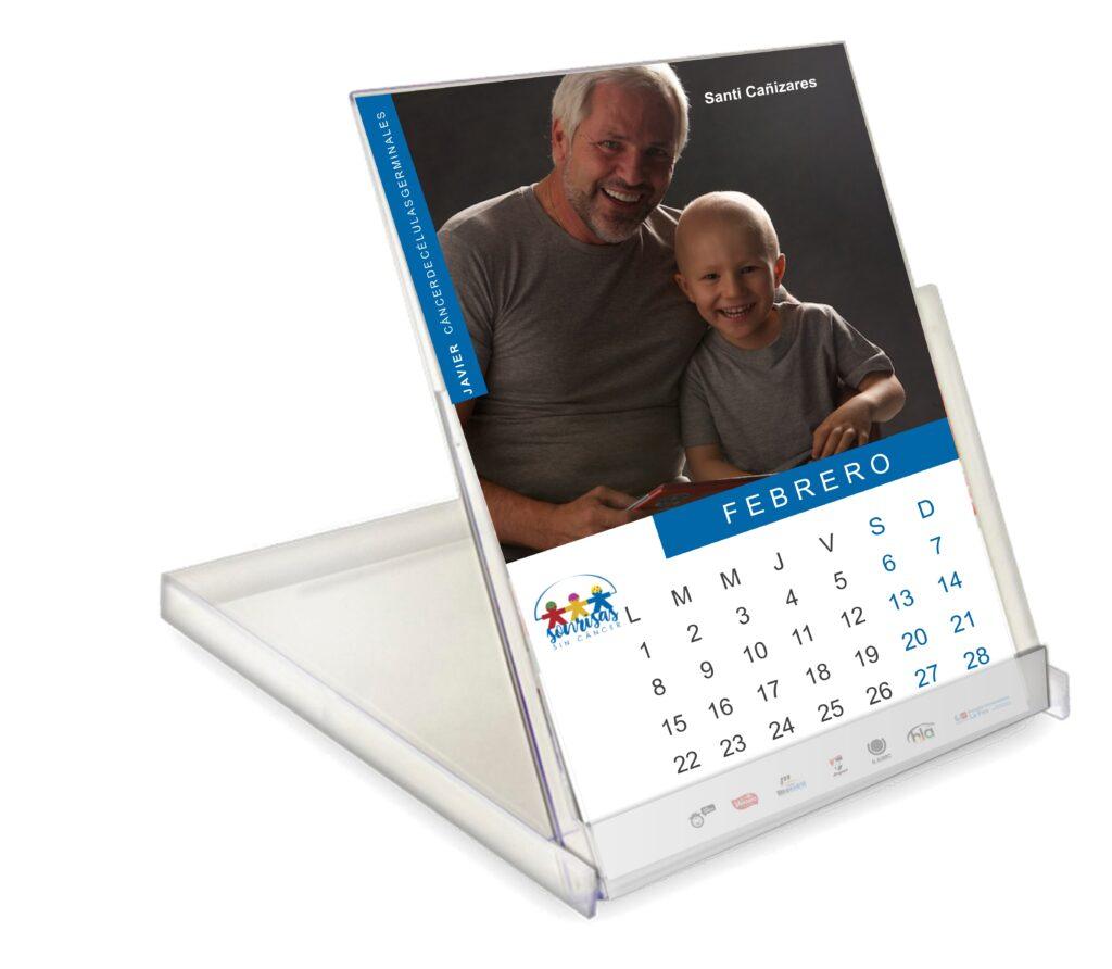 Calendario Sonrisas sin Cáncer