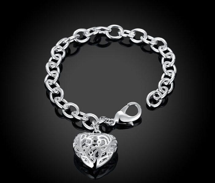 pulsera corazón - Asociación Sonrisas sin Cáncer